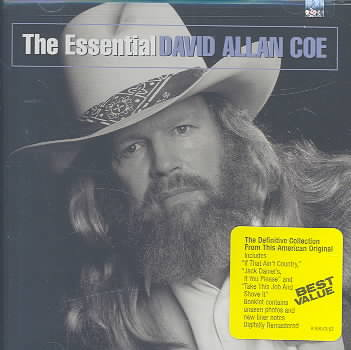 ESSENTIAL DAVID ALLAN COE BY COE,DAVID ALLAN (CD)